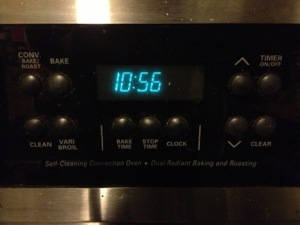 My stove uses not one but two types of fossil fuel.